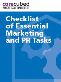 Essential Home Care Marketing and PR Tasks
