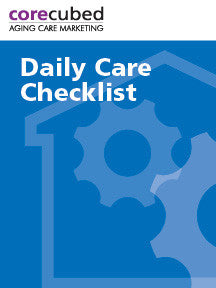 Daily Care Checklist