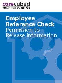 Employee Reference Permission and Release Form