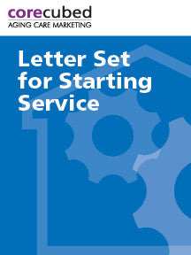 Letter Set for Starting Home Care Service