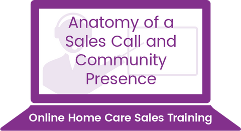 Anatomy of a Sales Call & Community Presence
