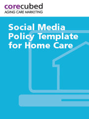 Social Media Policy Template for Home Care