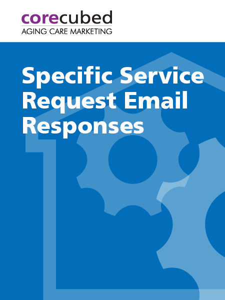 Specific Service Request Email Responses