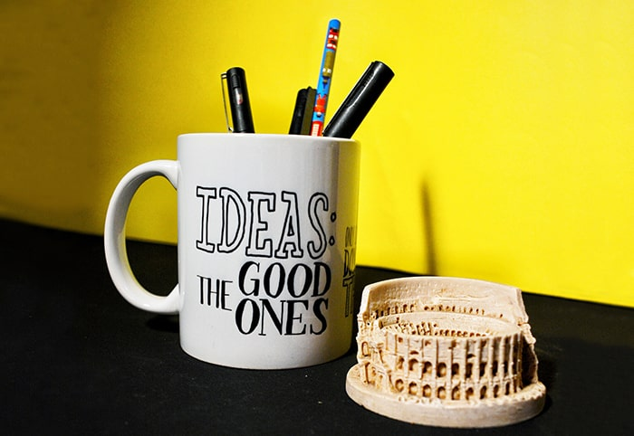 The good idea coffee mug