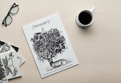 Monthly Doodle Planner