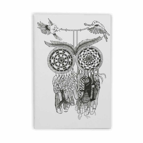 Dream Catcher Pin Notebook