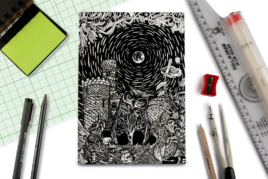 Starry Owl Graph Notebook