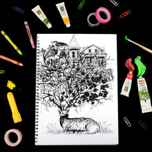 Load image into Gallery viewer, Distinguished Deer Doodle Sketch Book