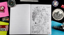 Load image into Gallery viewer, Wanderlust Hardbound Doodle Diary