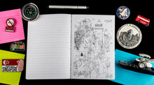Load image into Gallery viewer, Nerdy Kid Hardbound Doodle Diary
