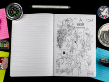 Load image into Gallery viewer, Cat Eye Hardbound Doodle Diary