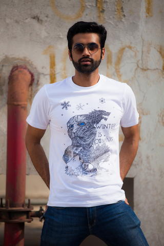 Winter is Coming Doodle T-shirt