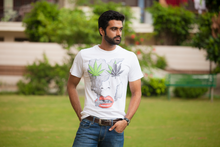 Load image into Gallery viewer, The leafy affair Doodle T-shirt