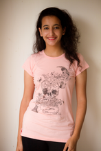 Load image into Gallery viewer, Women wishes Doodle T-shirt