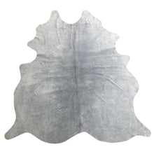 Load image into Gallery viewer, Natural Suede Rug Silver 5'x7'