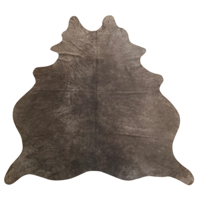 Natural Suede Rug Tobacco 5'x7'