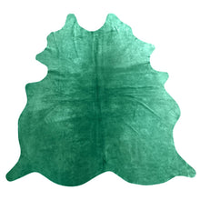 Load image into Gallery viewer, Natural Suede Rug Dark Green 5'x7'