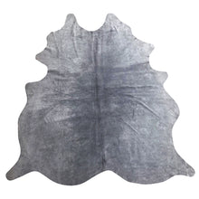 Load image into Gallery viewer, Natural Suede Rug Grey 5'x7'