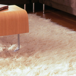 Natural Sheepskin Area Rug 4'x6'