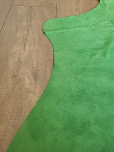 Natural Suede Rug Light Green 5'x7'