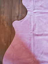Load image into Gallery viewer, Natural Suede Rug Light Pink 5'x7'