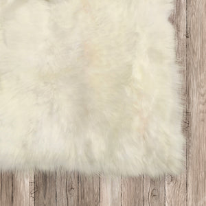 Natural Sheepskin Area Rug 8'x10'