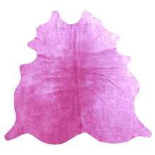 Load image into Gallery viewer, Natural Suede Rug Pink 5'x7'