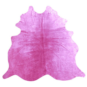 Natural Suede Rug Pink 5'x7'