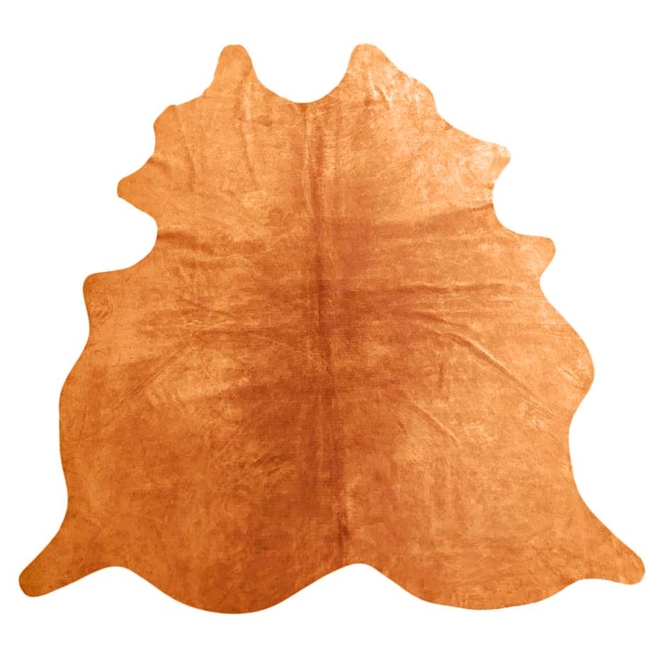 Natural Suede Rug Rust 5'x7'