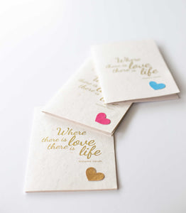 Love + Life Rakhi Card
