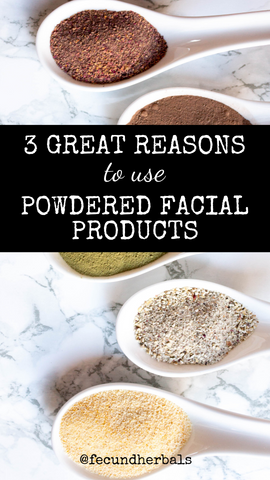 3 Great Reasons to Use Powdered Masks
