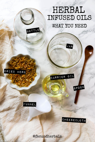 What You Need to Make Herbal Infused Oils