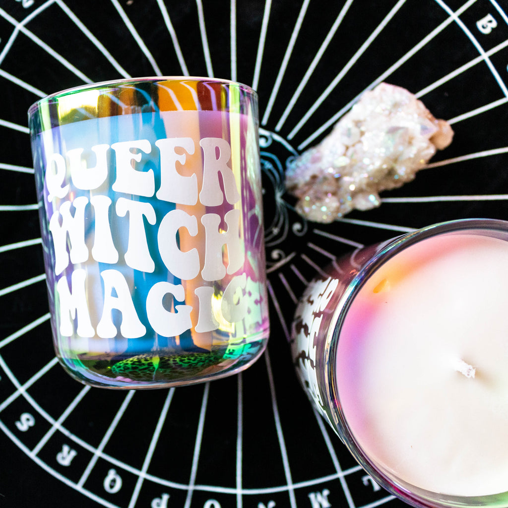 Queer Witch Magic Altar Candle
