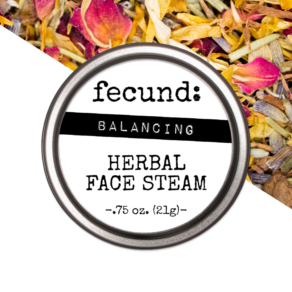 'Balancing' Herbal Face Steam