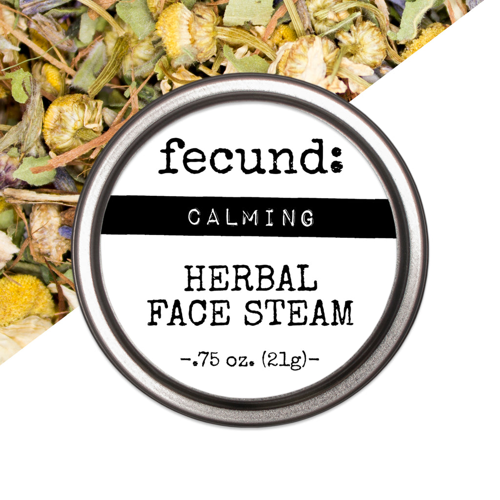 'Calming' Herbal Face Steam