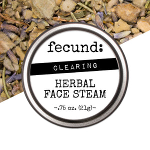 'Clearing' Herbal Face Steam