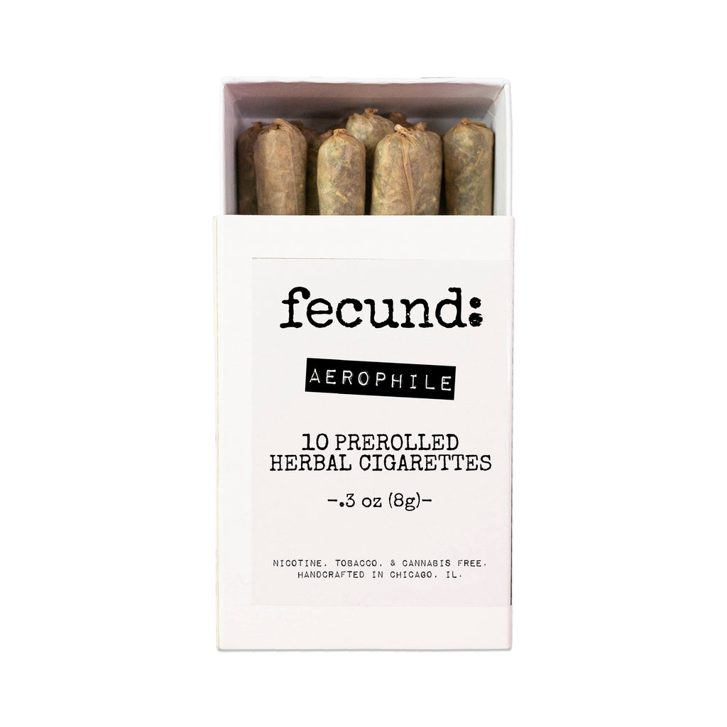 'Aerophile' Prerolled Herbal Cigarettes