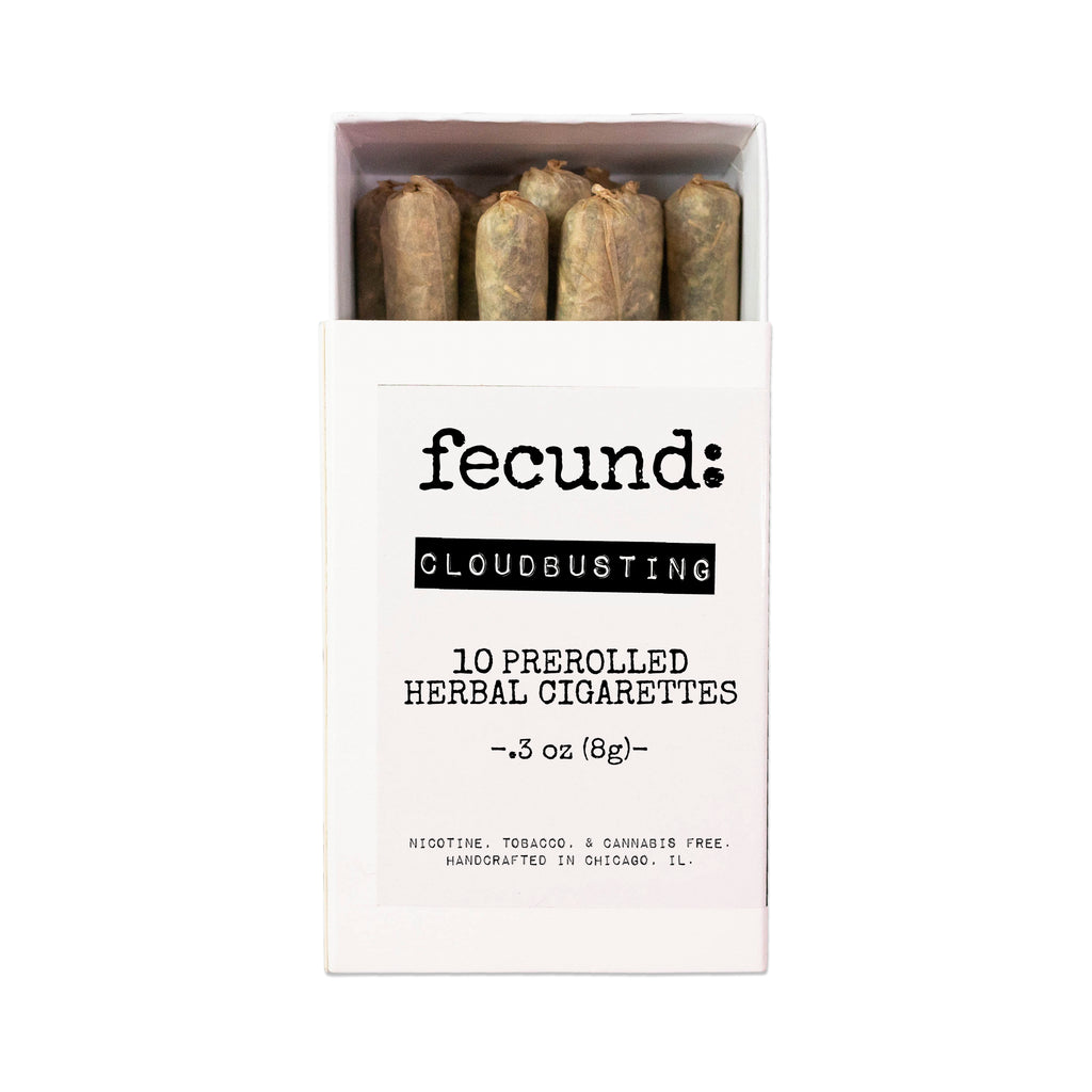 'Cloudbusting' Prerolled Herbal Cigarettes
