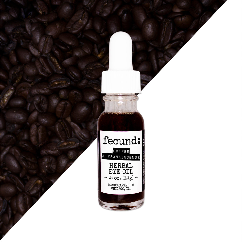 'Coffee & Frankincense' Herbal Under Eye Oil