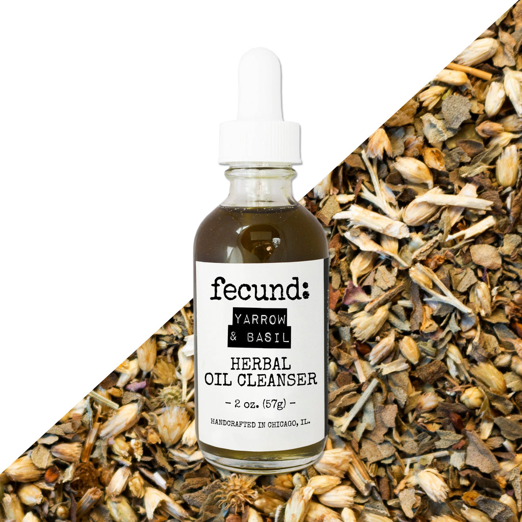 'Yarrow & Basil' Herbal Oil Cleanser