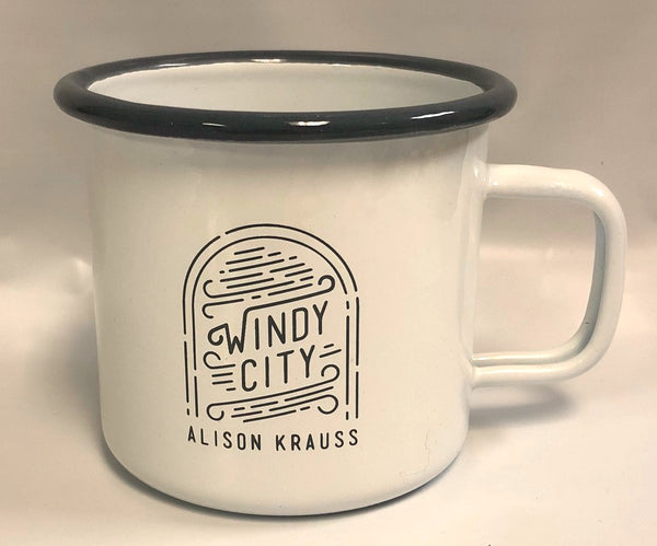 New! Windy City Enamel Mug