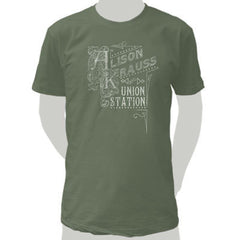 Men's Logo Olive T-Shirt