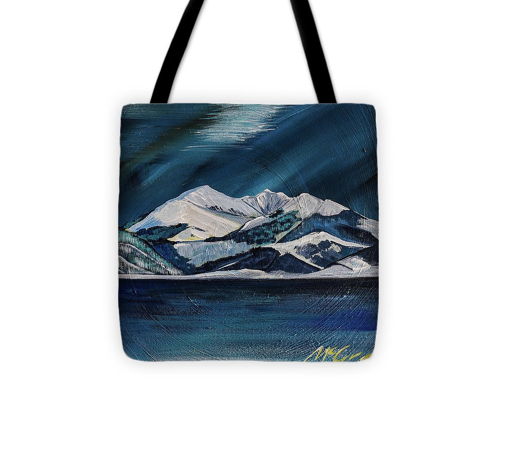 Fan Mountain  - Tote Bag