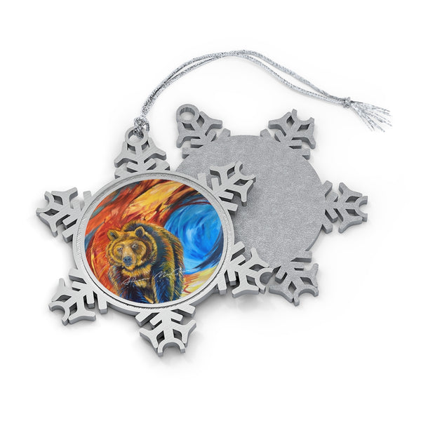 Abyss: Pewter Snowflake Ornament