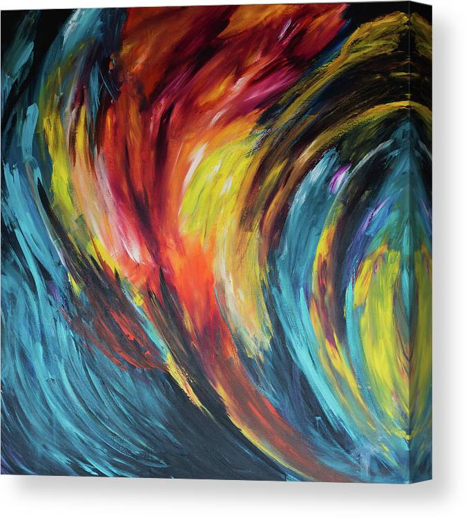 Acceleration  - Canvas Print