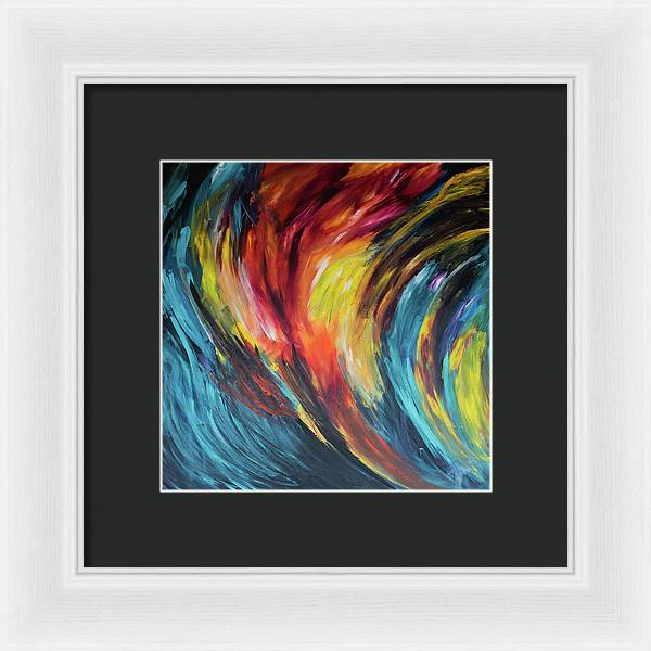 Acceleration  - Framed Print