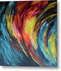 Acceleration  - Metal Print
