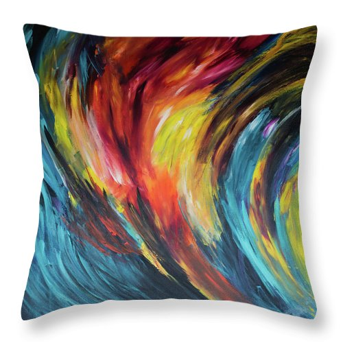 Acceleration  - Throw Pillow