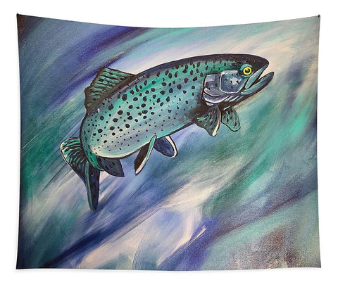 Blue Fish - Tapestry