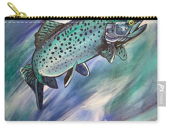 Blue Fish - Carry-All Pouch